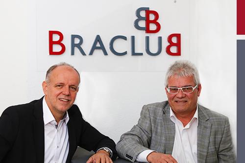 BRACLUB Gründer Karl-Heinz Barth und Reinhold Burr v.l.n.r.